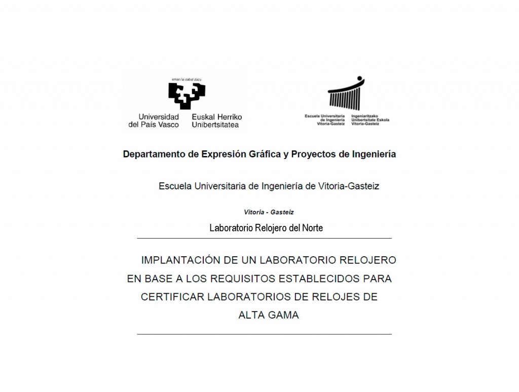 Diploma Universidad del País Vasco